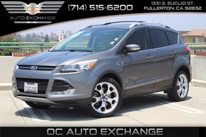 2014 Ford Escape Titanium Carfax Report - No AccidentsDamage Reported  Sterling Gray Metallic