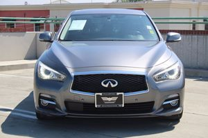 2014 INFINITI Q50 Premium Carfax 1-Owner  Gray          27441 Per Month - On Approved Credit