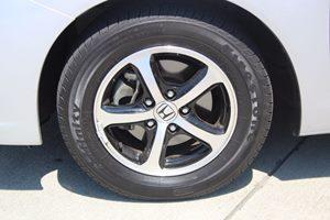 2015 Honda Civic Sedan SE Carfax 1-Owner - No AccidentsDamage Reported  Alabaster Silver Metal
