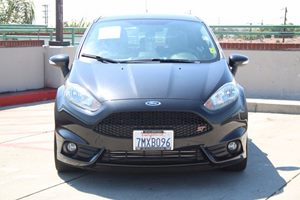 2015 Ford Fiesta ST Carfax 1-Owner - No AccidentsDamage Reported  Tuxedo Black          222
