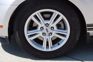 2011 Ford Mustang V6 Premium Carfax Report  Ingot Silver Metallic          16398 Per Month -