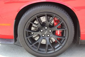 2015 Dodge Challenger SRT Hellcat Carfax Report - No AccidentsDamage Reported  Redline Red Tri