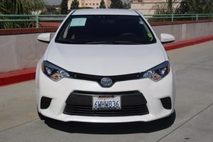 2015 Toyota Corolla LE Eco Carfax Report  White          16008 Per Month - On Approved Credi