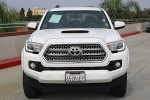 2017 Toyota Tacoma TRD Sport Carfax 1-Owner  Super White  We are not responsible for typograph