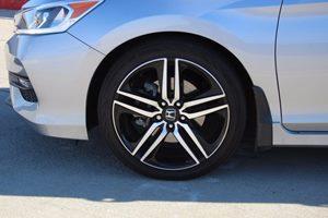 2016 Honda Accord Sedan Sport Carfax 1-Owner  Lunar Silver Metallic  We are not responsible fo