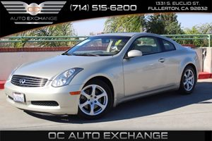 View 2006 INFINITI G35 Coupe