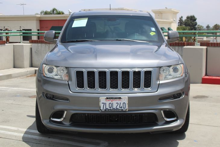2012 Jeep Grand Cherokee SRT8  Mineral Gray Metallic TAKE ADVANTAGE OF OUR PUBLIC WHOLESALE P