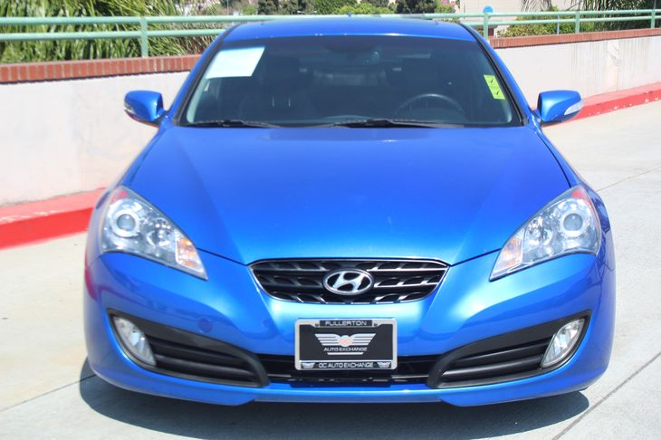 2011 Hyundai Genesis Coupe 38L Track  Blue All advertised prices exclude government fees and t