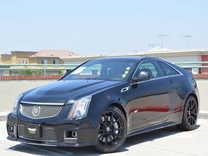 2012 Cadillac CTS-V Coupe  Carfax 1-Owner Engine Block Heater License Plate Bracket Front Air