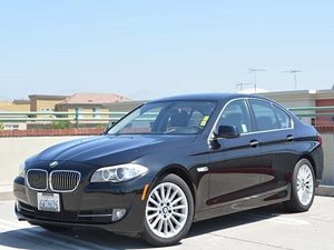 2012 BMW 5 Series 535i Carfax 1-Owner - No Accidents  Damage Reported to CARFAX  Black Sapphir