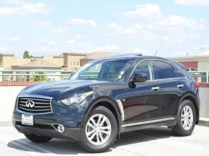 2014 Infiniti QX70  Carfax Report - No Accidents  Damage Reported to CARFAX  Black         4