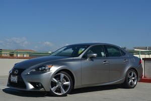 2014 Lexus IS 250  Carfax 1-Owner - No Accidents  Damage Reported to CARFAX Air Conditioning  C