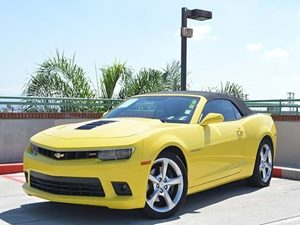 2014 Chevrolet Camaro SS Carfax Report Displacement  62L Engine Bright Yellow 37778Per Mon