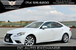 2014 Lexus IS 250  Carfax 1-Owner - No Accidents  Damage Reported to CARFAX  Ultra White 344