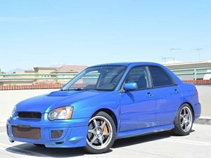 2004 Subaru Impreza Sedan WRX STi wGold Wheels Carfax Report - No Accidents  Damage Reported to