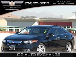 2013 Acura TSX Tech Pkg Carfax 1-Owner Air Conditioning  Climate Control Audio  Mp3 Player Au