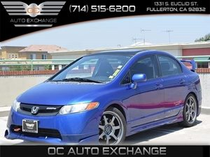 2008 Honda Civic Sdn Si Carfax Report - No Accidents  Damage Reported to CARFAX  Atomic Blue M