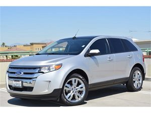 2013 Ford Edge SEL Carfax 1-Owner Audio  Satellite Radio Convenience  Back Up Camera Convenie