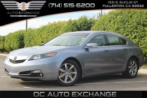2012 Acura TL BASE W SUNROOF Carfax 1-Owner Air Conditioning  Climate Control Air Conditioning