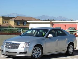 2010 Cadillac CTS Sedan  Carfax 1-Owner - No Accidents  Damage Reported to CARFAX License Plate