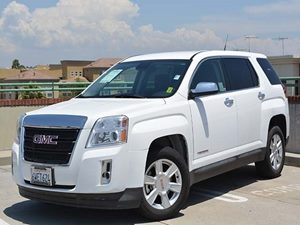 2013 GMC Terrain SLE Carfax 1-Owner  Summit White         24193 Per Month - On Approved Cred