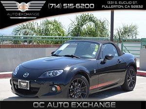 2013 Mazda MX-5 Miata Club Carfax 1-Owner  Brilliant Black 22504Per Month - On Approved Cred