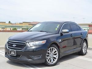 2013 Ford Taurus Limited Carfax Report  Tuxedo Black Metallic         22374 Per Month - On A