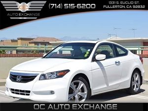 2012 Honda Accord Cpe EX-L Carfax 1-Owner - No Accidents  Damage Reported to CARFAX  Taffeta W