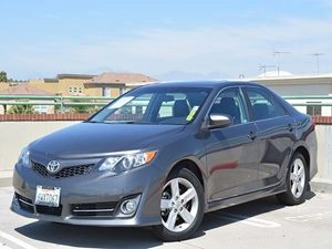 2012 Toyota Camry SE Carfax 1-Owner Air Conditioning  AC Audio Bluetooth Convenience  Cruis