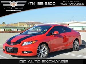 2012 Honda Civic Cpe Si Carfax Report - No Accidents  Damage Reported to CARFAX  Rallye Red
