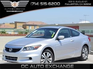 2012 Honda Accord Cpe EX Carfax 1-Owner  Alabaster Silver Metallic         19776 Per Month -
