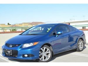 2012 Honda Civic Cpe Si Carfax Report - No Accidents  Damage Reported to CARFAX  Dyno Blue Pea