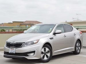 2011 Kia Optima EX Hybrid Carfax Report - No Accidents  Damage Reported to CARFAX  Gray