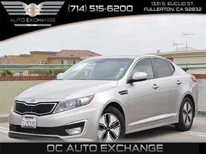 2011 Kia Optima EX Hybrid Carfax Report - No Accidents  Damage Reported to CARFAX  Gray 175
