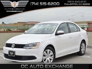 2014 Volkswagen Jetta Sedan SE Carfax 1-Owner  Candy White 17307Per Month - On Approved Cred