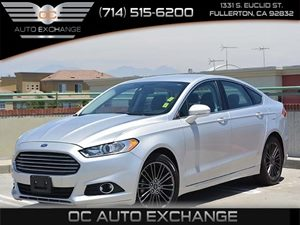 2013 Ford Fusion SE Carfax 1-Owner Fuel Economy  22 Mpg City  33 Mpg Highway Ingot Silver 1