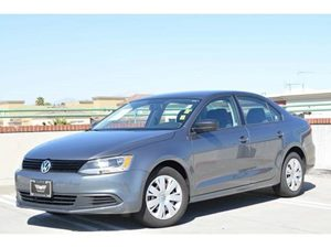 2012 Volkswagen Jetta Sedan S Carfax 1-Owner 6040 Split-Folding Rear Bench Seat -Inc Height-Adj