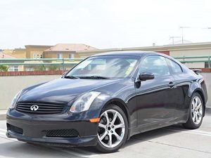 2004 Infiniti G35 Coupe wLeather Carfax Report - No Accidents  Damage Reported to CARFAX  Bla