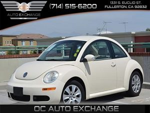 2008 Volkswagen New Beetle Coupe  Carfax Report Air Conditioning  AC AudibleVisible Anti-Thef