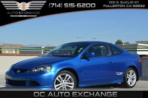 2006 Acura RSX Type-S Leather Carfax Report Air Conditioning  AC Fuel Economy  23 Mpg City