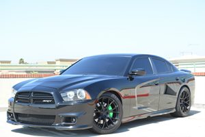 2012 Dodge Charger SRT8 Carfax Report - No Accidents  Damage Reported to CARFAX  Pitch Black