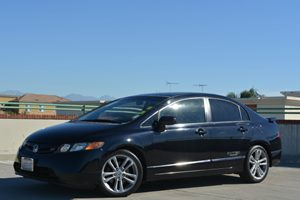 2007 Honda Civic Si  Carfax Report - No Accidents  Damage Reported to CARFAX  Nighthawk Black
