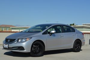 2013 Honda Civic Sdn LX Carfax Report - No Accidents  Damage Reported to CARFAX  Alabaster Sil