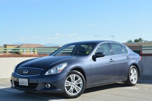 2012 Infiniti G37 Sedan Journey Carfax 1-Owner  Blue Slate         25492 Per Month - On Appr