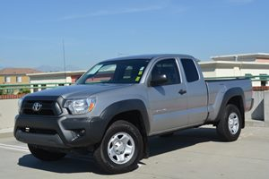 2014 Toyota Tacoma PreRunner Carfax 1-Owner  Silver Sky Metallic         29436 Per Month - O