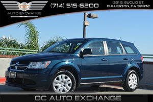 2013 Dodge Journey American Value Pkg Carfax 1-Owner Air Conditioning  AC Air Conditioning  M