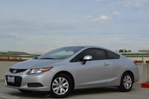 2012 Honda Civic Cpe LX Carfax 1-Owner - No Accidents  Damage Reported to CARFAX Fuel Economy