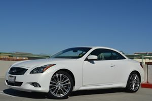 2012 Infiniti G37 Convertible Base Carfax 1-Owner Air Conditioning  Climate Control Air Conditi