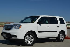 2012 Honda Pilot LX Carfax Report Fuel Economy  18 Mpg City  25 Mpg Highway Locks  Keyless En