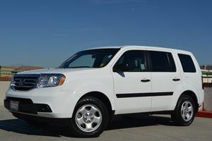 2012 Honda Pilot LX Carfax Report Fuel Economy  18 Mpg City  25 Mpg Highway Locks  Keyless En